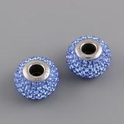 BeCharmed Pavé korálky Swarovski Elements 180101 - Sapphire