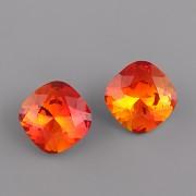 Fancy Stone Swarovski Elements 4470 – Fire Opal Foiled - 12mm