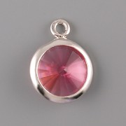 OKATÁ Rivoli Swarovski Elements - Rose - 1 očko - 10mm
