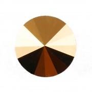 Swarovski Elements Rivoli 1122 – Crystal Dorado – 8mm