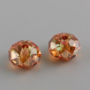 Briolette korálek 5041 Swarovski Elements - Copper - 12mm