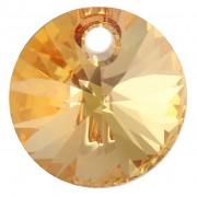 Swarovski Elements přívěsky 6428 – Rivoli – Metallic Sunshine - 6mm