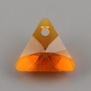 Swarovski Elements přívěsky 6628 - XILION Triangle - Tangerine - 8mm