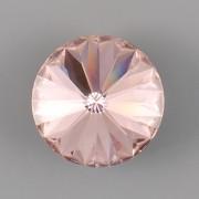 Swarovski Elements Rivoli 1122 – Vintage Rose - 12mm