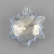 Swarovski Elements přívěsky 6748 PROTĚŽ - Blue Shade matovaný - 18mm