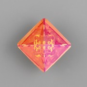 VISION Square Swarovski Elements 4481 – Astral Pink Foiled - 12mm