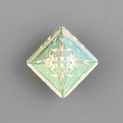 VISION Square Swarovski Elements 4481 – Luminous Green Foiled - 12mm