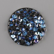 Crystal Rocks Swarovski Elements - Crystal Moonlight - 25mm