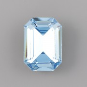 Octagon Swarovski Elements 4610 - Aquamarine F - 14mm
