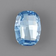 Graphic Fancy Stone Swarovski Elements 4795 - Aquamarine Foiled - 14mm