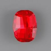 Graphic Fancy Stone Swarovski Elements 4795 - Light Siam Foiled - 14mm