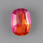 Graphic Fancy Stone Swarovski Elements 4795 - Astral Pink Foiled - 14mm