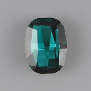 Graphic Fancy Stone Swarovski Elements 4795 - Emerald Foiled - 14mm