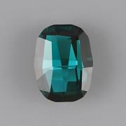 Graphic Fancy Stone Swarovski Elements 4795 - Emerald Foiled - 14mm