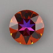 Round Stone Swarovski Elements 1201 – Volcano Foiled – 27mm