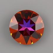 Round Stone Swarovski Elements 1201 – Volcano Foiled – 27mm
