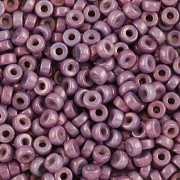 Heishi korálky - fialový listr - 5g