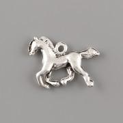 Přívěsek Kůň v poklusu - platina