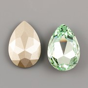Slza Swarovski Elements 4327 - Chrysolite Foiled - 30mm