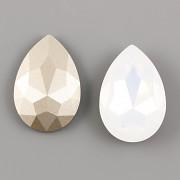 Slza Swarovski Elements 4327 - White Opal Foiled - 30mm