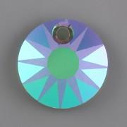 Sluníčkový přívěsek MATOVANÝ Swarovski Elements 6724 - Paradise Shine - 19mm