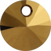Swarovski Elements přívěsky 6428 – Rivoli – Dorado – 8mm
