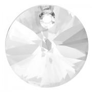 Swarovski Elements přívěsky 6428 – Rivoli – Crystal – 8mm