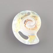 Swarovski Elements přívěsky 6731 – Mořský hlemýžď – Crystal AB - 28mm