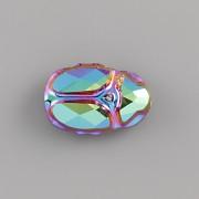 Korálek SCARAB BEAD 1x Swarovski Elements 5728 - Scarabeus Green - 12mm