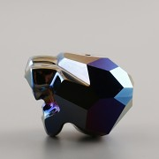 Korálek PANTHER Swarovski Elements 5751 - Metalic Blue 2x - 19mm