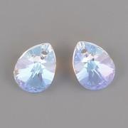 Swarovski Elements přívěsky 6128 – Mini Pear – Crystal Blue AB – 10mm