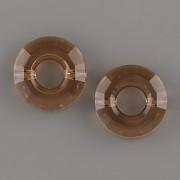 Ring Bead 5139 Swarovski Elements - Light Smoked Topaz 12,5mm
