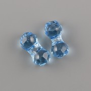 Modular Bead 5150 Swarovski Elements - Aquamarine 11mm