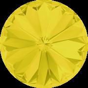 Swarovski Elements Rivoli 1122 – Yellow Opal Foiled – 14mm