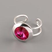 MACATÝ prsten pro Rivoli Swarovski Elements 10mm