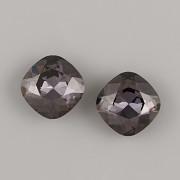 Fancy Stone Swarovski Elements 4470 – Graphite Foiled – 10mm