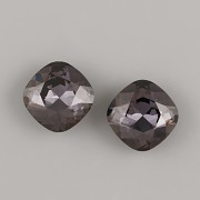 Fancy Stone Swarovski Elements 4470 – Graphite Foiled – 12mm