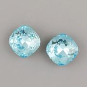 Fancy Stone Swarovski Elements 4470 – Light Turquoise Foiled – 12mm