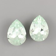 Slzička Swarovski Elements 4320 - Chrysolite 18mm