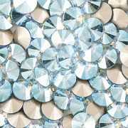 Swarovski Elements Rivoli 1122 – Aquamarine Shimmer F – 8mm
