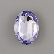 Ovál Swarovski 4127 - Light Tanzanite - 30mm
