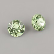 Swarovski Elements XIRIUS Chaton 1088 – Peridot Foiled – 10mm