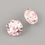 Swarovski Elements XIRIUS Chaton 1088 – Light Rose– 10mm