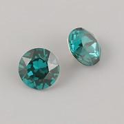 Swarovski Elements XIRIUS Chaton 1088 – Emerald – 10mm