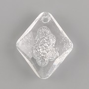 Swarovski přívěsky 6926 – Growing Crystal Rhombus – Crystal - 26mm