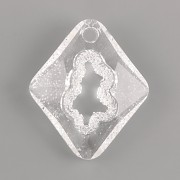 Swarovski přívěsky 6926 – Growing Crystal Rhombus – Crystal - 36mm