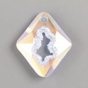 Swarovski přívěsky 6926 – Growing Crystal Rhombus – Crystal AB - 36mm