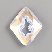 Swarovski přívěsky 6926 – Growing Crystal Rhombus – Crystal AB - 36mm