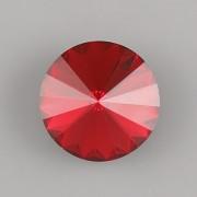 Swarovski Elements Rivoli 1122 – Scarlet Foiled – 6mm