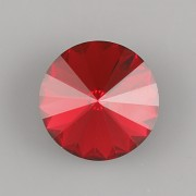 Swarovski Elements Rivoli 1122 – Scarlet Foiled – 8mm